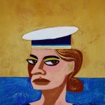 """She got the look, 8"""" x 10"""""""